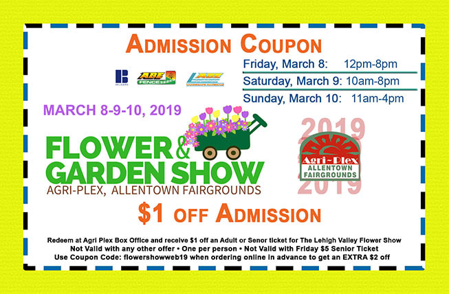 Coupon - Lehigh Valley Flower Show
